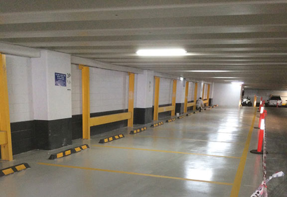 Multi Level Car Park Poly Coating