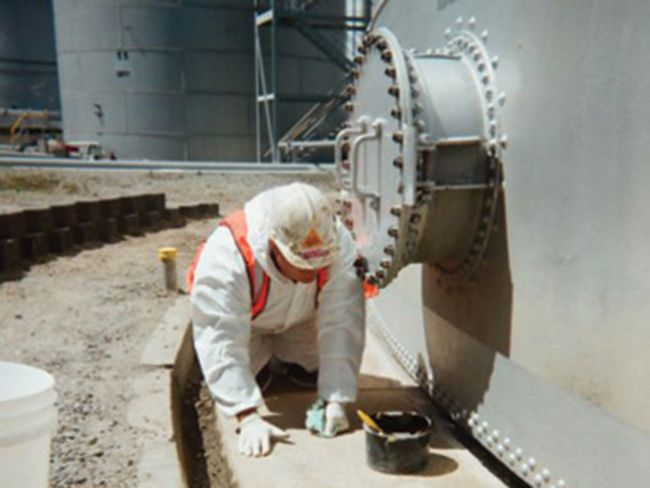 Petro Chemical Tank Rehab